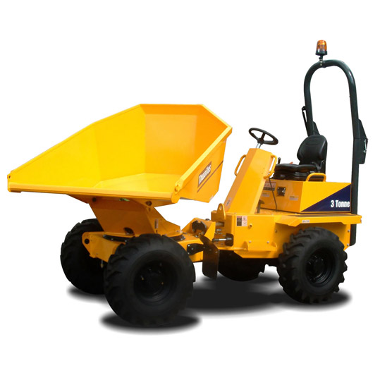 3 Ton Swivel Tip Dumpers