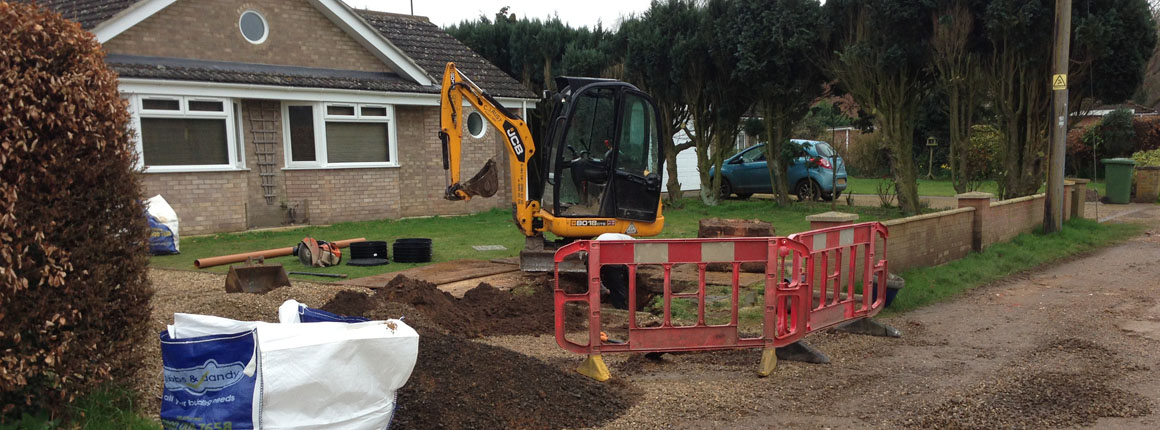 CJ Rust Groundworks and Plant Hire