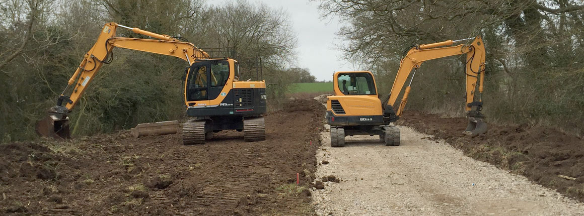 Plant hire in Norfolk